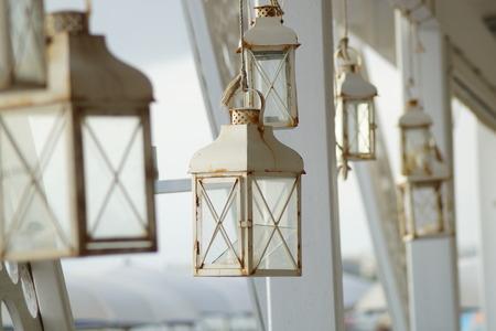 lantern vintage photo
