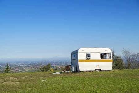 caravan abandoned