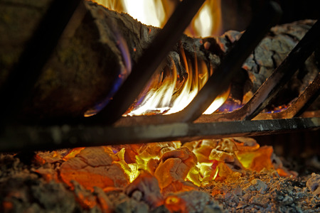 fireplace home: Wood burning fireplace in your home