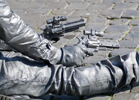 shooter: shooter Stock Photo