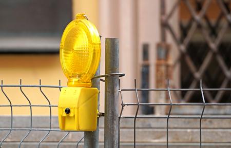 road work: Lamp road work