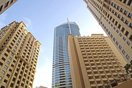Dubai buiding Stock Photo