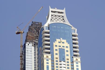 buiding: Dubai buiding Stock Photo