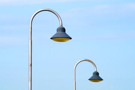 modern urban lampost