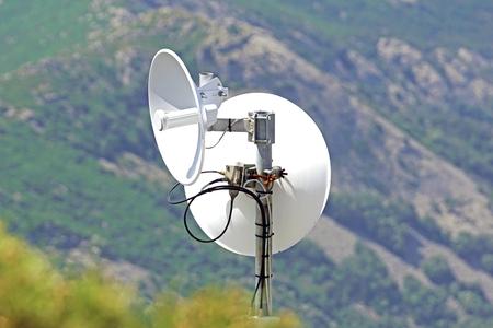 telecommunication antennas Stock Photo