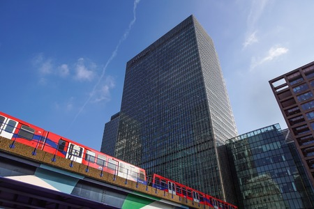 London, UK - May 27, 2012: investment bank J P Morgan European headquarters in Canary Wharf, which was brought by the company in 2010 after the collapse of Lehman Brothers the previous owners .
