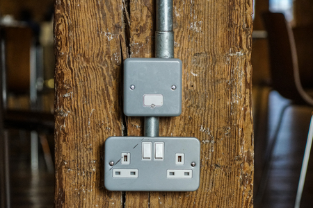 plug socket distributes power to all electric equipment help peoples to get convenient.