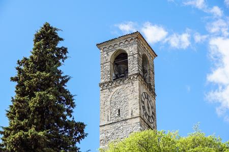 Glockenturm am mittelalterlichen C Churc Chapel Hill.