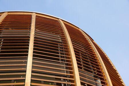 closeup of natural wood structure Banco de Imagens - 125478954