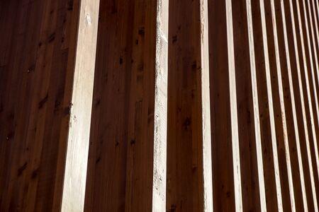 closeup of natural wood structure . detail at wood Banco de Imagens