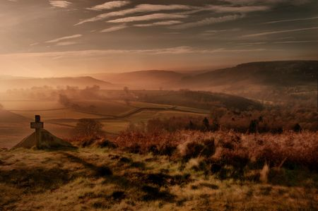 moorland: Moorland foothpath