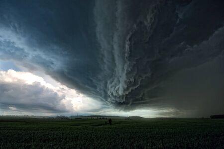 Storm cloud Stock Photo - 9834811