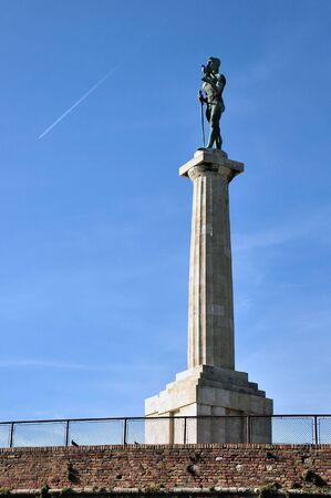 belgrade: Statue The Victor, Belgrade, Serbia