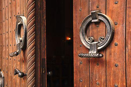 belgrade: Orthodox church doorway of a St. Markos Church in Belgrade