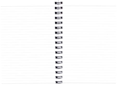 fascicule: Close up image of a notebook pages with grid lines