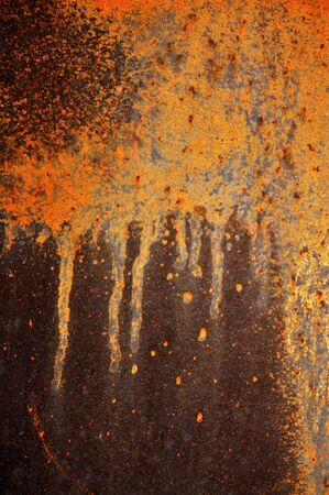 Grunge vintage rusty metal plate texture, backgound image Stock Photo - 6420279