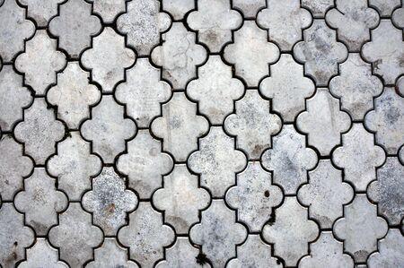 Seamless texture of a pavemenet, background image photo