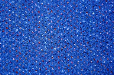 Close up image of a blue carpet, background texture. photo
