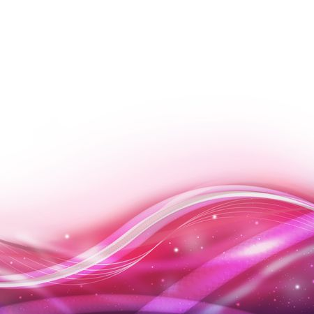 Abstract waves and particles, background image for your design Stock Photo - 6722011