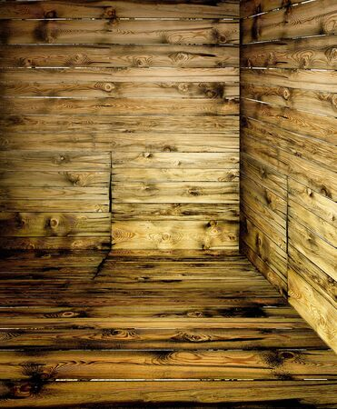 Vintage wooden rusty room detail,wooden textured wall, pattern background. photo