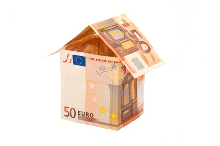 A house made from euro bills Stock Photo - 7394767