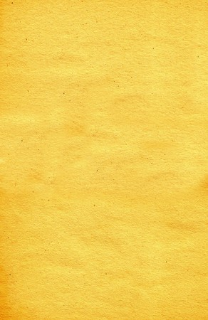 Old, yellow paper texture, high resolution scan. Stock Photo - 7430046