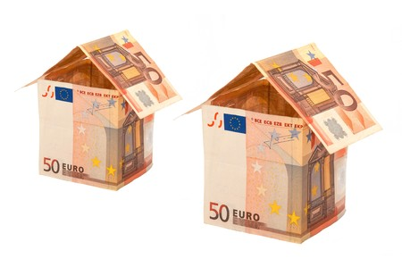 A house made from euro bills Stock Photo - 7506984