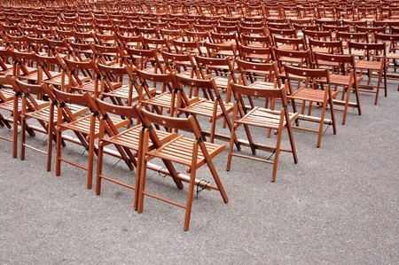 campus tour: chairs aligned
