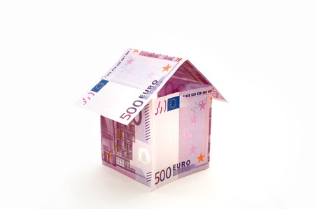 A house made from euro bills Stock Photo - 8089191