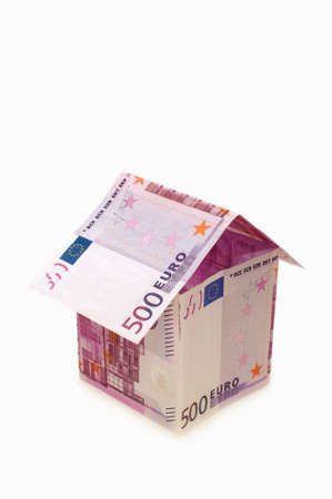 A house made from euro bills Stock Photo - 8204485