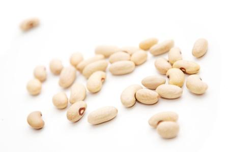 Assortimento di bianco (cannelini) fagioli.