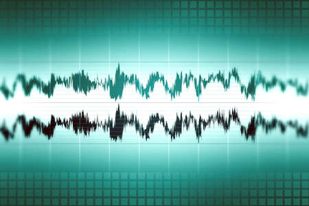 Sound audio waveform, abstract background image photo