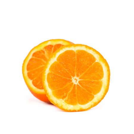 Close up of a slice of orange fruit Stock Photo - 9918660