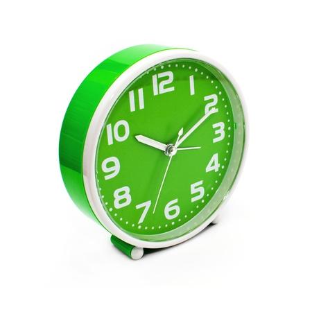 Alarm clock on the white background Stock Photo - 10024269