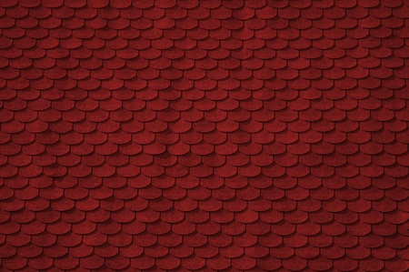 asphalt shingles: Seamless background, architectural style asphalt roofing shingles. Stock Photo