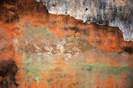 Texture of an old grunge vintage wall. photo