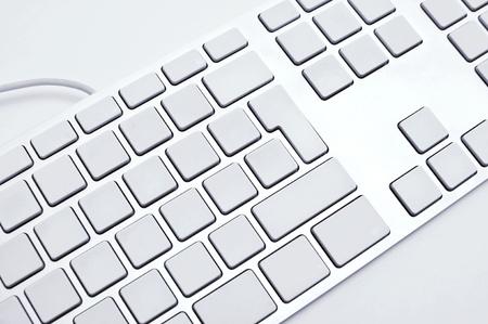 teclado de computadora: El teclado moderno y con estilo para un ordenador