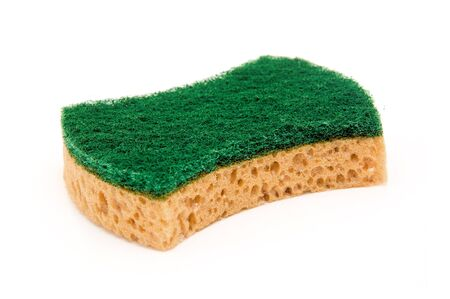 anti bacterial: A clean super absorbent and anti bacterial cellulose sponge Stock Photo