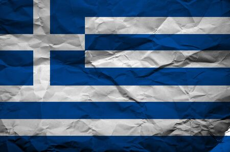 overlaying: Grunge Greece flag, image is overlaying a detailed grungy texture