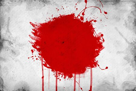 overlaying: Grunge flag of Japan,illustration is overlaying a grungy texture