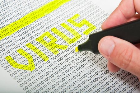 Computer virus detection concept Stock Photo - 13668575