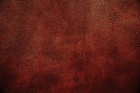 leather background: Brown leather texture closeup  Useful as background for any design work  Stock Photo