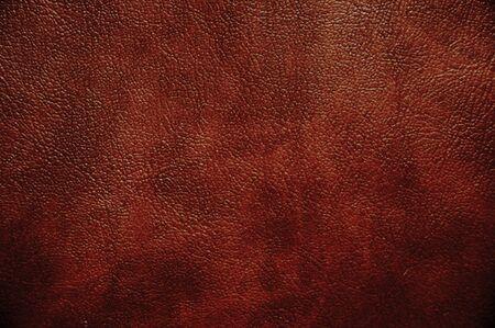 cuero vaca: Brown textura de cuero útil como fondo para cualquier trabajo de diseño closeup Foto de archivo