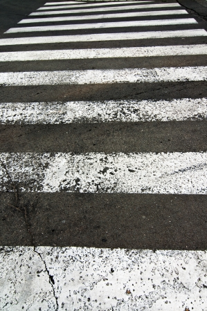 zebra crossing: Pedestrian zebra crossing