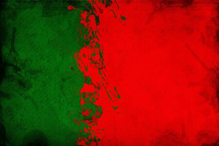 overlaying: Grunge Portuguese flag, image is overlaying a detailed grungy texture