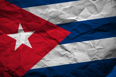 overlaying: Grunge Cuban flag, image is overlaying a detailed grungy texture