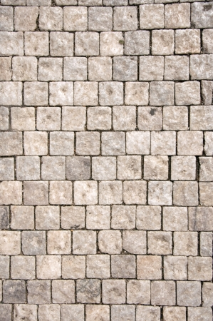 paving stone: Cobble stone road pattern from Prague.