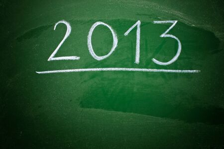 next year: Happy new 2013th year, next year conceptual image. Stock Photo