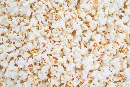 Popcorn texture abstract background as a element of design. photo