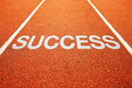 sucess: Success on athletics all weather running track